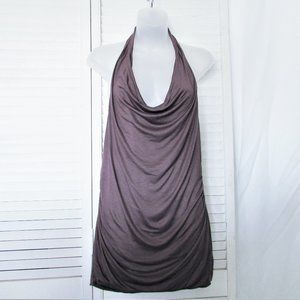 GAP mulberry backless halter top M